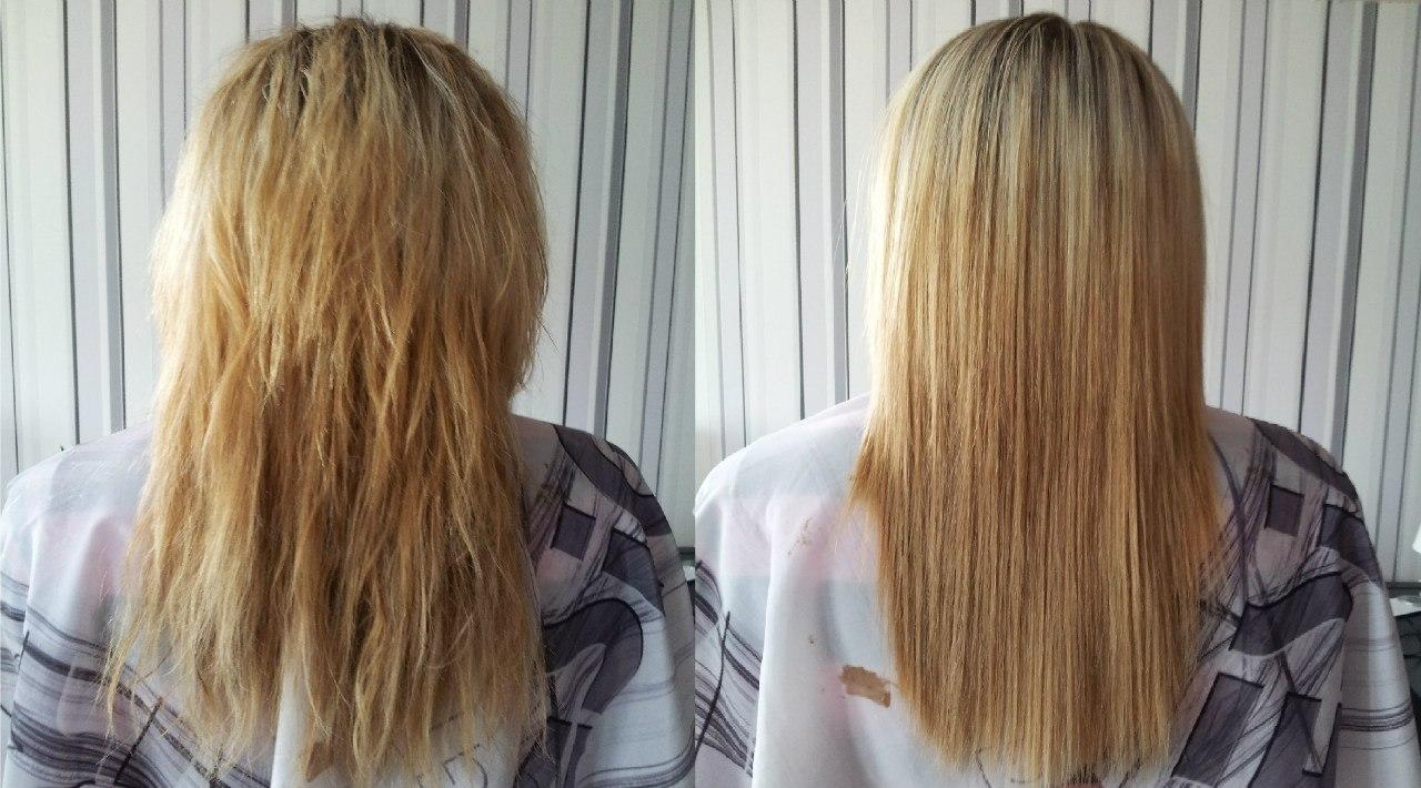 Цена кератиновое выпрямление волос спб