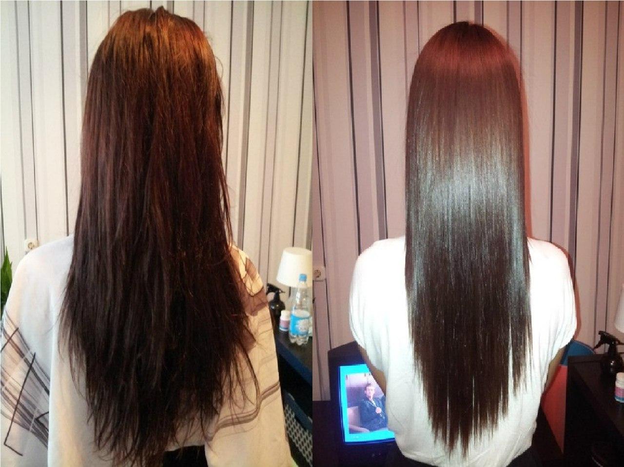 Обучение кератиновому выпрямлению волос спб