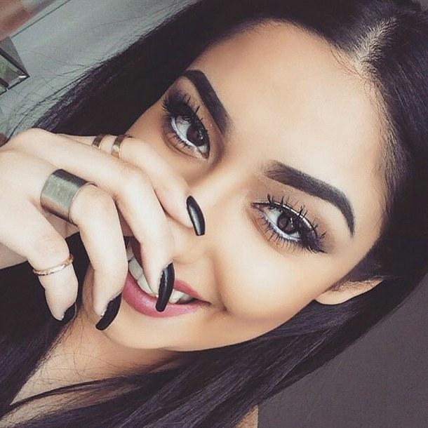 eyebrows-girl-make-up-beautiful-Favim.com-2975991